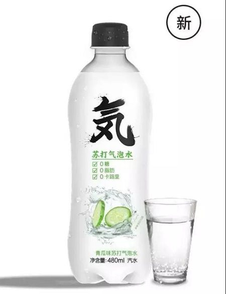 【新品】东洋饮料出元気森林青瓜味气泡水新品图片